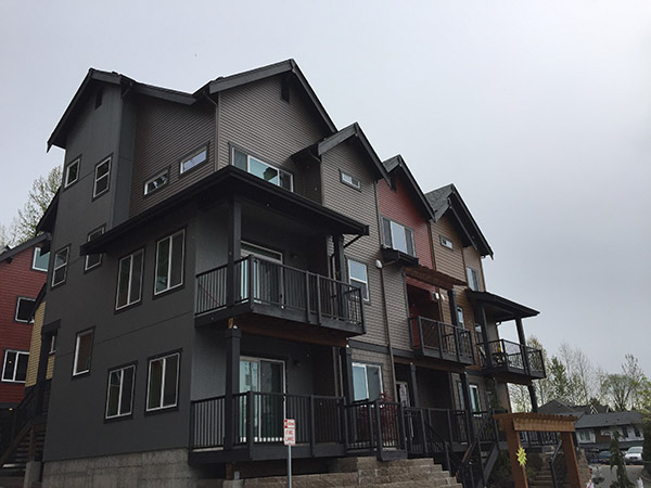 Multi-Family Siding Cedar Panels